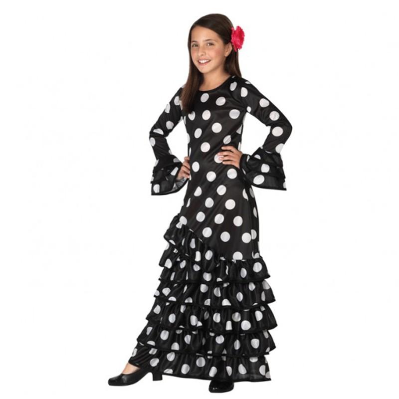 b6b67694f Disfraz de Flamenca para niña
