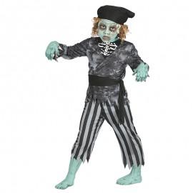 Disfraz de Pirata Fantasma infantil