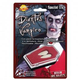 Colmillos de Vampiro grandes para adulto