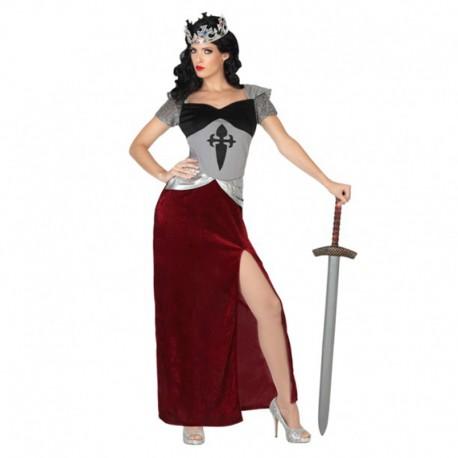 Disfraz de Soldado Medieval para mujer