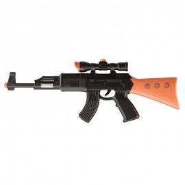 Metralleta Kalashnikov de plástico