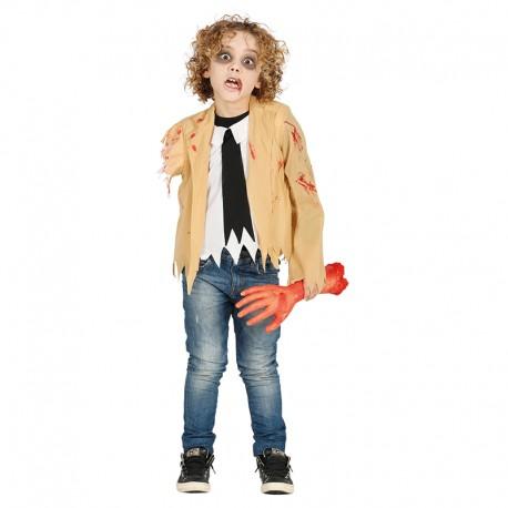 Disfraz de Zombie, para niño