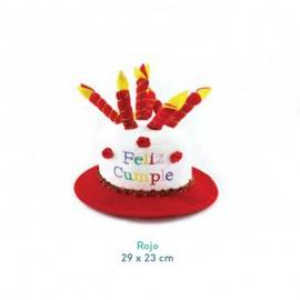Sombrero de Feliz Cumpleaños para adultos