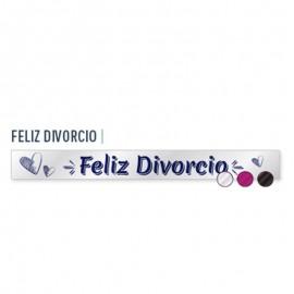 """Banda de """"Feliz Divorcio"""" para adulto"""
