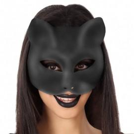 Máscara de Gata negra para mujer