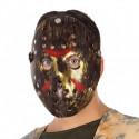 Máscara de Jason de plástico para adulto