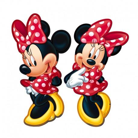 Mini figuras de Minnie Mouse para decoración