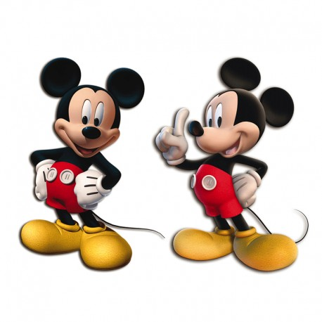 Mini figuras de Mickey Mouse para decoración