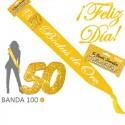 """Banda """"50 Bodas de Oro"""" para celebraciones"""