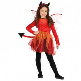 Disfraz de Diablesa infantil