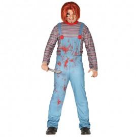 Disfraz de Muñeco Asesino para hombre