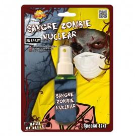 Sangre Verde de Zombie para caracterización