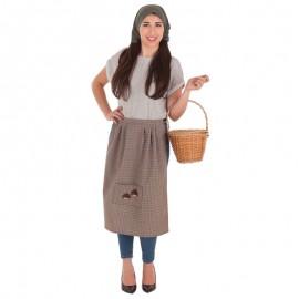 Disfraz de Castañera para mujer