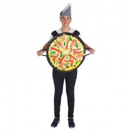 Disfraz de Emoticono Paella para adulto