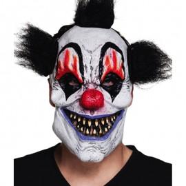 Máscara de Payaso Asustadizo para adulto
