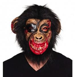 Máscara de Mono ensangrentado para adulto