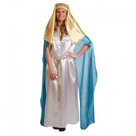 Disfraz de Virgen María de mujer