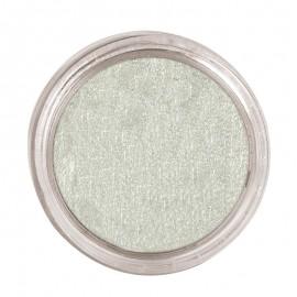 Maquillaje al agua en color plata