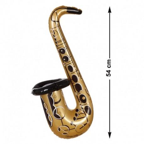 Saxofón Hinchable de plástico