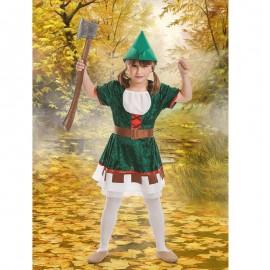 Disfraz Chica de los Bosques para niña