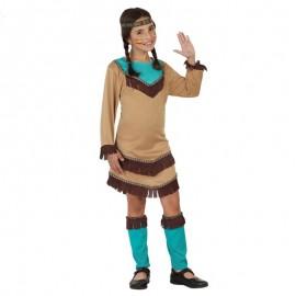 Disfraz de India Sioux para niña