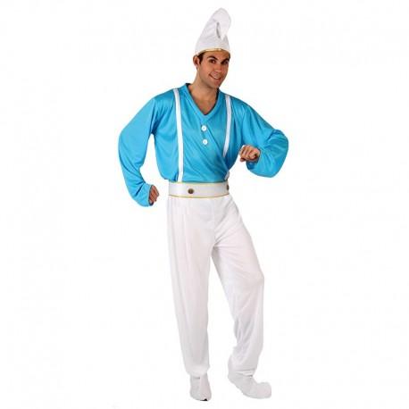 Disfraz de Gnomo Azul