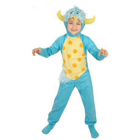 Disfraz Infantil de Monstruo Azul