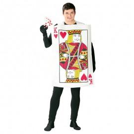 Disfraz de Carta de Poker para adultos