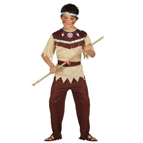 Disfraz Infantil de Indio Cherokee